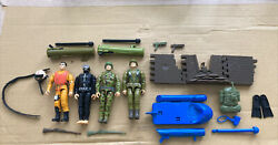 Gi Joe Commemorative Collection Army Infantry Action Soldier Pilot Frog Man G.i.