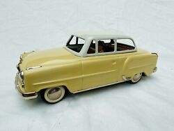 Arnold Opel Rekord Tin Toy Car Friction Blechspielzeug Very Rare