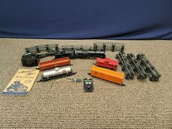 1952 American Flyer A.c. Gilbert Train Set S 3/16 Scale 21105 Reading Read