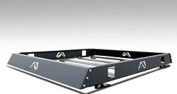 Fab Fours Universal Black 60 Inch Modular Roof Rack With Tie Downs