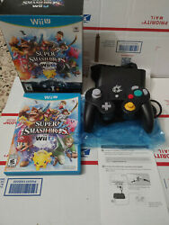 Super Smash Bros. Ultimate Edition With Controller And Adapter Open Box