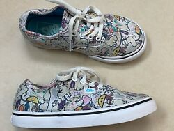 Vans off the Wall Baby Size 10 Llama Low Top Toddler Lace Up Shoes