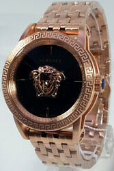Versace Menand039s Watch Verd00718 Swiss Made Brand Watch New With Certificate