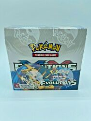 2016 Pokemon Card Xy Evolutions Booster Box Factory Sealed From Case 36 Packs