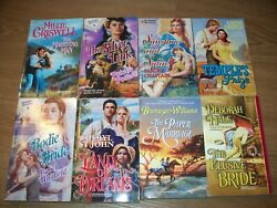 Hale Whitfield Williams Criswell Potter Harlequin Historical Romance Book Lot