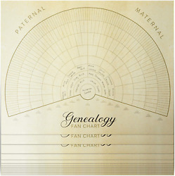 Blank Family Tree Genealogy Charts 17quot; x 22quot; Pack of 15