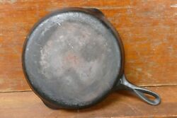 Vintage Griswold 704g Cast Iron Skillet 8 Small Block Logo - Sits Flat - Usa