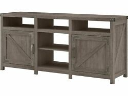 Kathy Ireland Home By Bush Furniture Cottage Grove Tv Stand Restored Gray