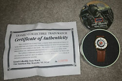 Lionel Trains Collectible Watch W/ Tin