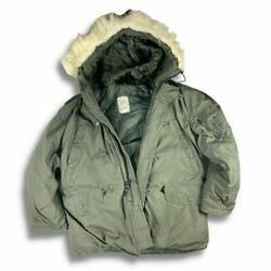 N-3b Extreme Cold Weather Parka Military Issue Circa 1980and039s