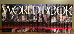 World Book Encyclopedia 22 Volume Complete Set 2010 Research Guide