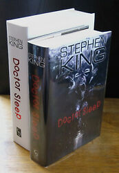 Doctor Sleep 2013 Signed Stephen King And Vincent Chong Remarque Limited Edition