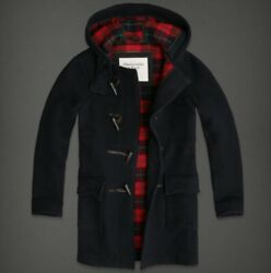 Abercrombie And Fitch Wool Blend Hooded Long Coats Nwt Authentic Items