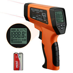 Digital Laser Infrared Thermometer Non Contact Lcd Temperature Gun Meter 0.5s Uk