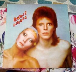 David Bowie / Pinups / Rare Uk Import 1st Canadian Contract Press /1973 /rs-1003