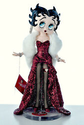 21.5 Betty Boop Htf Ball Jointed Doll Figure By Gregg Ortiz Ed Of 50 Worldwide