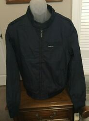 Members Only Navy Iconic Racing Jacket Size Xxl Nwt
