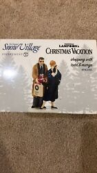 National Lampoons Shopping With Todd And Margo Dept. 56