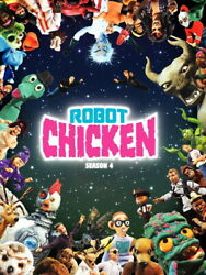 V3224 Robot Chicken Cool Funny Tv Series Decor Wall Poster Print