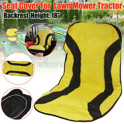 600d Large Seat Cover Lp92334 For John Deere Mower Tractor Seats Up To 18 High