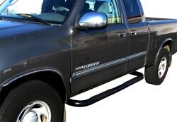 Steelcraft 230947 3 Round Nerf Bars For 2000-2006 Toyota Tundra Access Cab