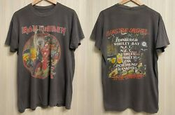 Iron Maiden Bring Your Daughter To The Slaughter 1990 Tour Size M/l T-shirt Tee