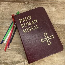 1998 Daily Roman Missal Complete With Readings Bonded Leather 4th Edition Case