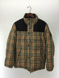 Down Jacket Reversible Vintage Check Puffer 8018862 M _93993