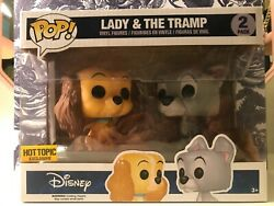 Funko Pop Disney Lady And The Tramp 2 Pack Ht Exclusive