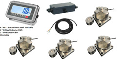 Truck Weighing Scale Kit 60000kg20kg With 4 Load Cells