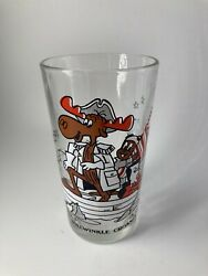 Rare Arbyand039s Bicentennial 1976 General Bullwinkle Crosses The Delaware Glass