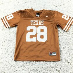 Nike Tennessee Volunteers Vols Youth Boy's Small 8/10 Football Jersey 28 Orange