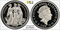 2020 Royal Mint Great Engravers Three Graces £5 Silver Proof 2oz Coin Pcgs Pr69
