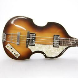 Hofner Vintage And03962 500/1 Electric Violin Bass Guitar Owned By Andrew Gold 43995