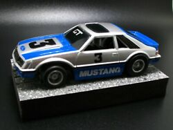 Tyco Ford Mustang Gt Ho Slot Car Very Rare