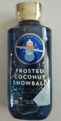 Bath And Body Works Frosted Coconut Snowball Shower Gel 10oz 2019 Edition New