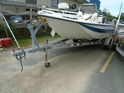 1998 19' Red Fin Center Console 188t Boat Hull...no Engine Or Trailer