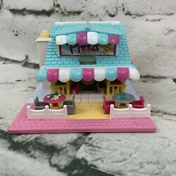 Vintage Bluebird Polly Pocket 1993 Pizza Place Light Up Compact 95 Complete