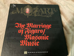 Mozart The Marriage Of Figaro 5 Lp Vinyl Record Masonic Music Used Time Life Rec