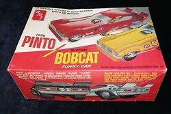 Ford Pinto / Mercury Bobcat Funny Car Amt 1/25 Scale Kit, Complete Vintage T245