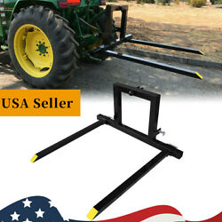 1x3 Point Tractor Pallet Forks Hitch Forks Tractor Mover Attachments Category 1