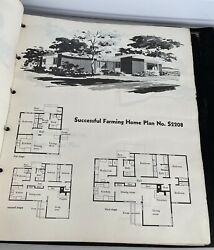 Successful Farming Home Plans 1950's Modern Atomic Ranch Mid Century Architect