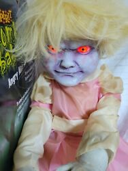 Zombie Baby Angry Alice As Is Spirit Halloween Prop Light Up Sound Talks Decor