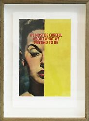 The Connor Brothers - ''we Must Be Careful...'' Framed - Limited Edition Print