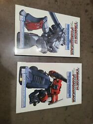 Transformers More Than Meets The Eye Official Guidebook Volume 1and 2 Idw 2010