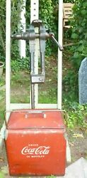 Heavy Duty Antique Blacksmith Post Leg Vise 5 - C70lbs - Possible Free Delivery