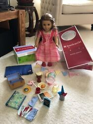 American Girl Doll Retired Marie-grace With Accessories