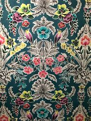 Peel And Stick Wallpaper Flowers Teal Garden Wall Furniture Contact Paper 30 Sq Ft
