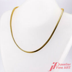 Snake Necklace Without Decorations -18k /750 Yellow - 0.9oz - 15 7/8in Top State