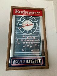 Vintage Classic Bar Room Beer Signs And Lamps Group